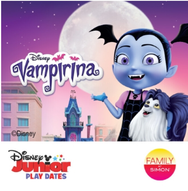 CELEBRATE HALLOWEEN WITH VAMPIRINA AT SUMMIT MALL! #DisneyJuniorPlay