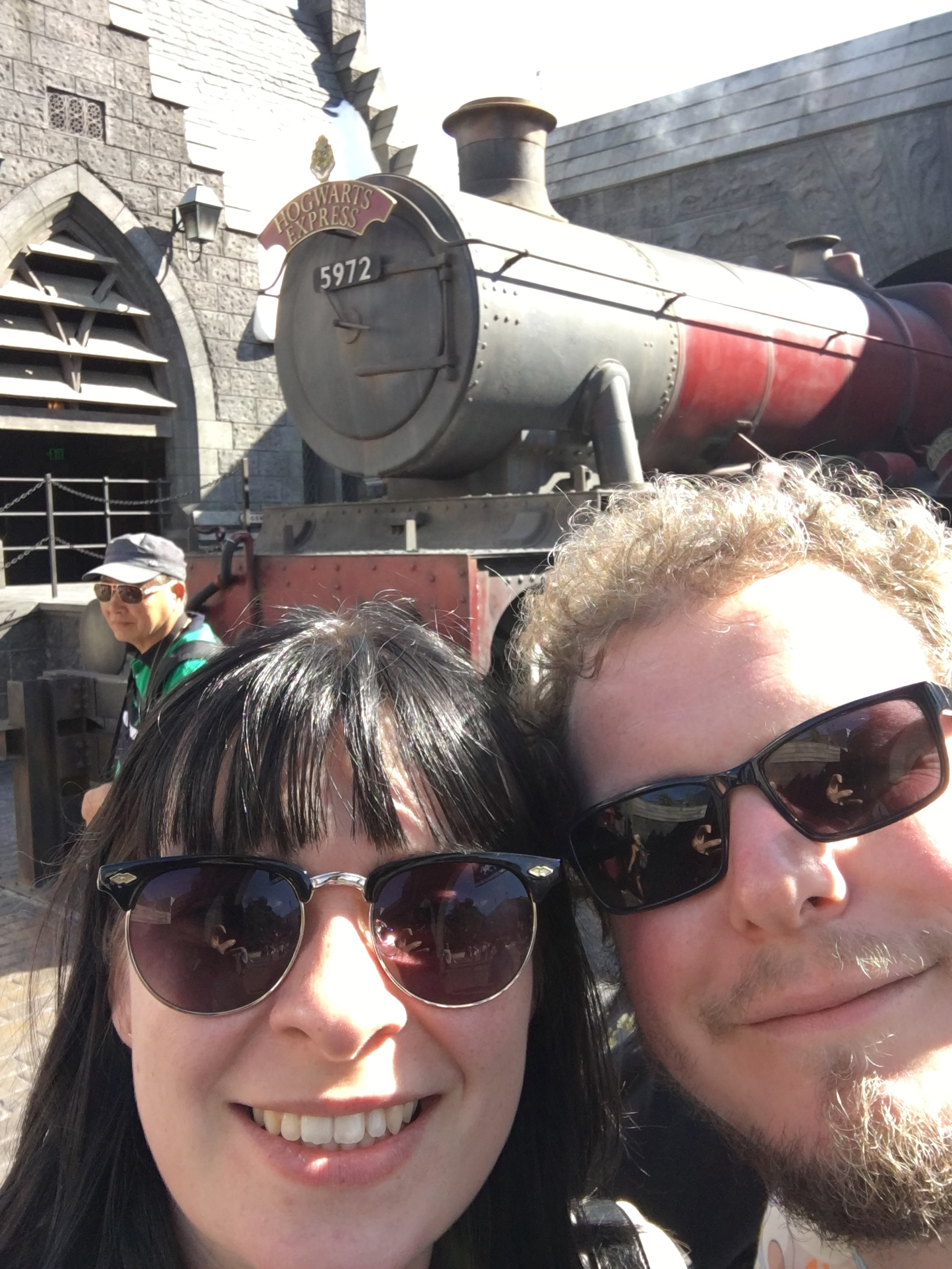 Universal Studios Hollywood - hogwarts express