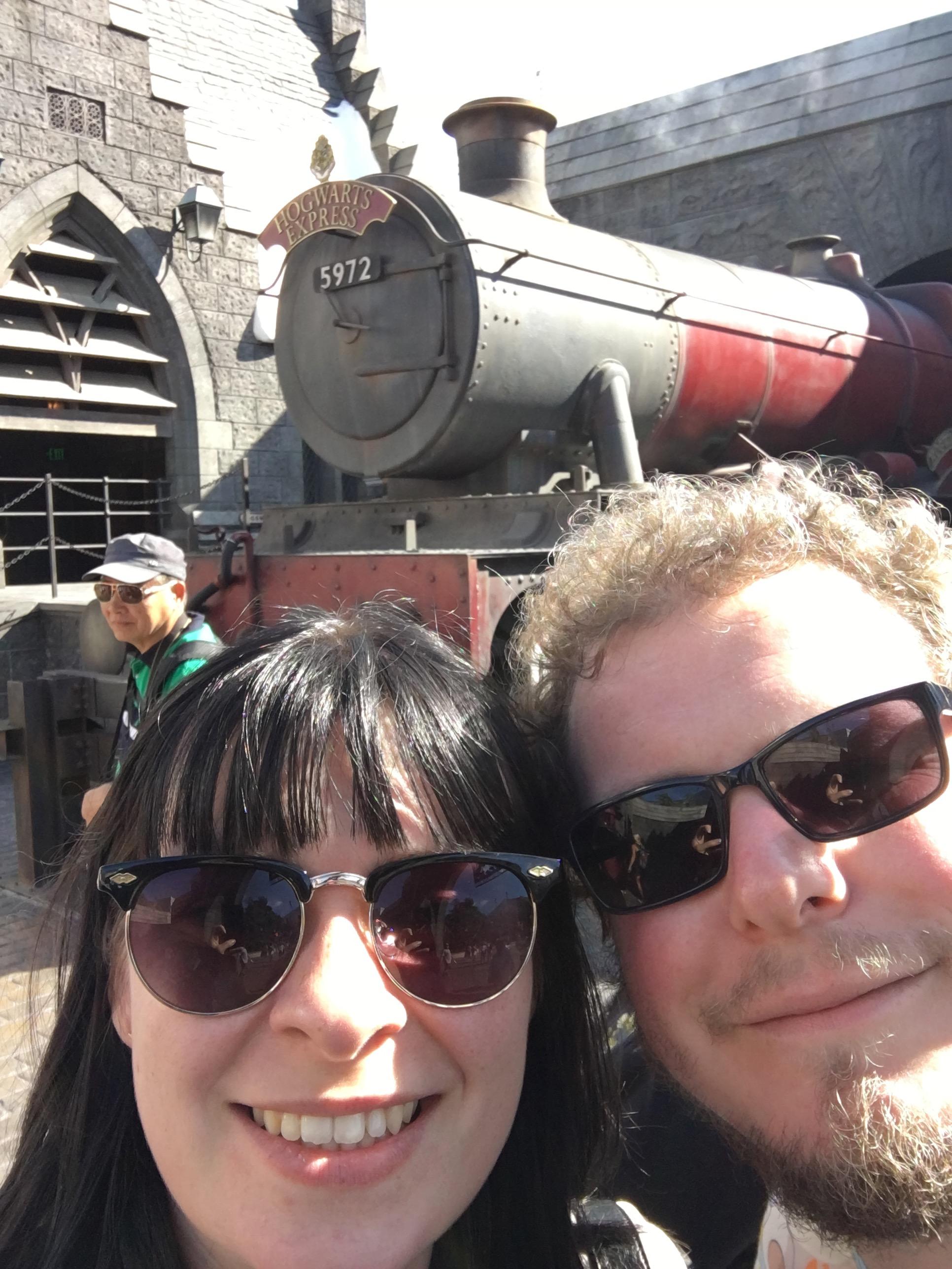 Universal Studios Hollywood - hogwarts express