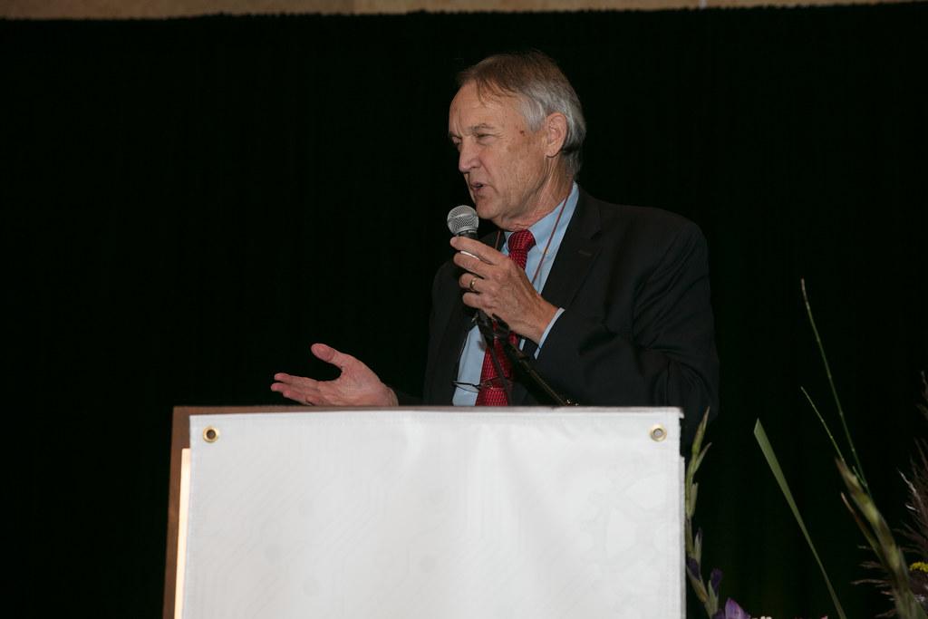 Mark Carpenter gave a CIE Cenntinnial award acceptance speech