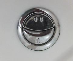 A smile or toilet humour?