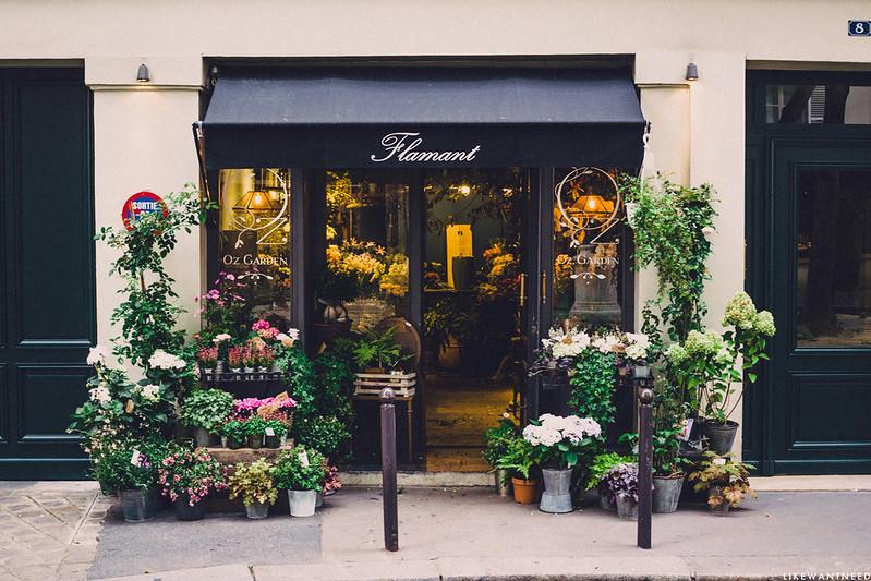 Fleuriste, Place de Furstenberg