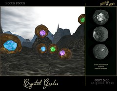 Lilith's Den -  Crystal Geodes