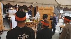 灘のけんか祭り2016 中村年番 神輿奉据祭 GH4+RODE SVMX 蜂の巣マイク