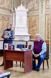 Засідання міського Клубу бібліотекарів.04.10.17. ім. В. Некрасова