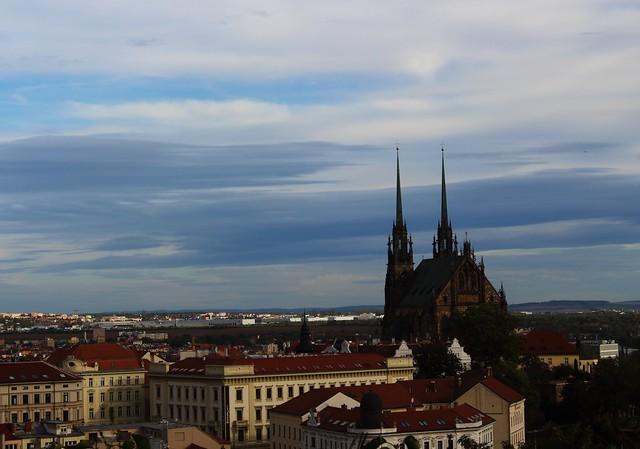 Stratocumulus lenticularis above Brno
