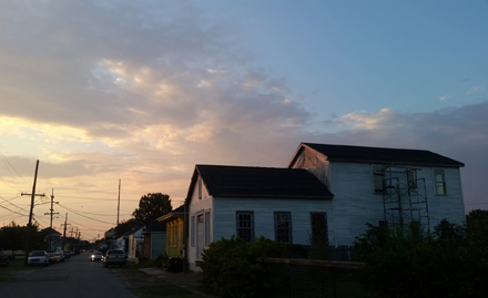 Sun Over Columbus