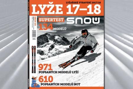 Zima se blíží a s ní i čas doplnit či obnovit si lyžařskou výbavu. Primárně právě tento účel sleduje speciální vydání SNOW market, které se zrovna dostává na prodejní místa a schránek předplatitelů. Najdete v něm...