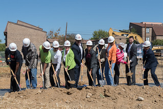October 2, 2017 Groundbreaking for Affordable Housing Units at Former R.L. Christian Library Site in Ward 6