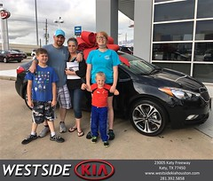 #HappyBirthday to Patrick And Lealieanne from Bobby Russell at Westside Kia!