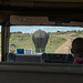 Safari. Traffic on the game drive.