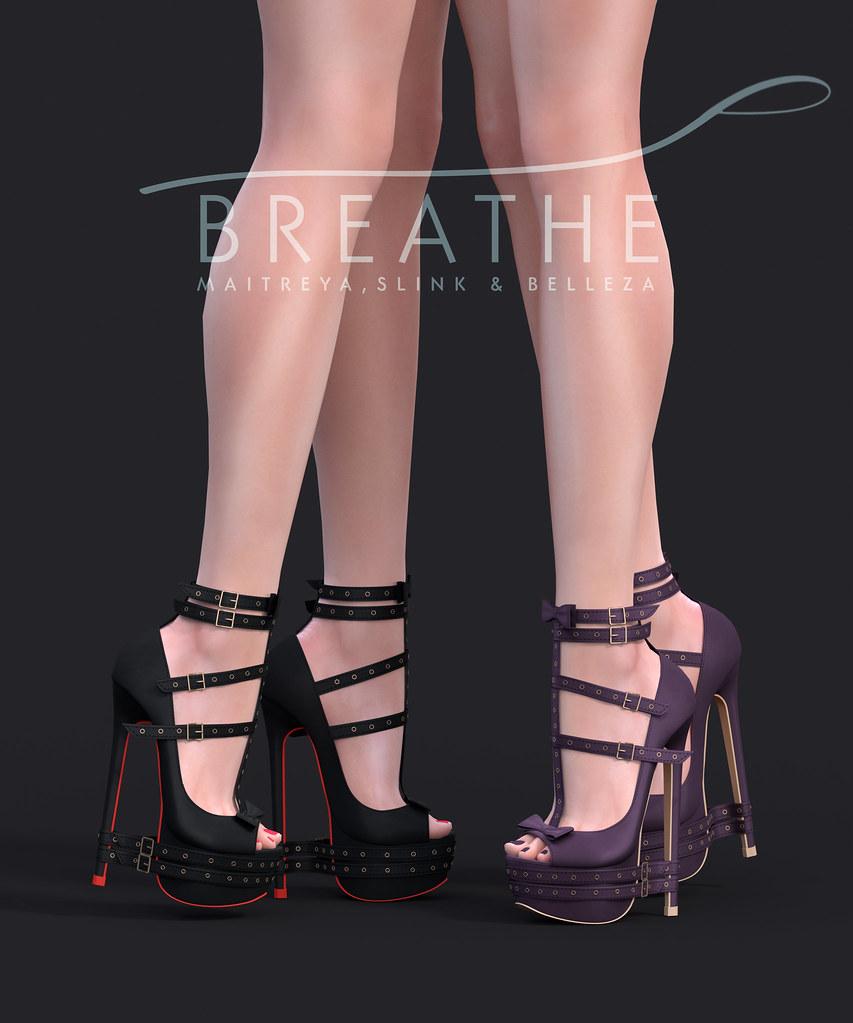[BREATHE]-Bruna Heels@Tres Chic - TeleportHub.com Live!