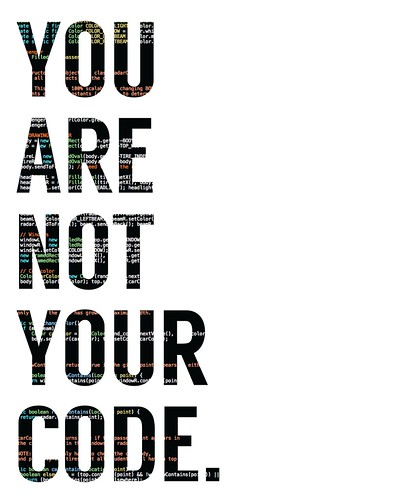 You Are Not Your Code - White