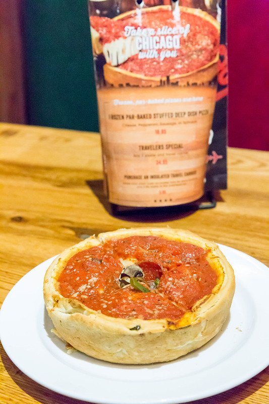 Deep Dish Pizza: Chicago-style Pizza