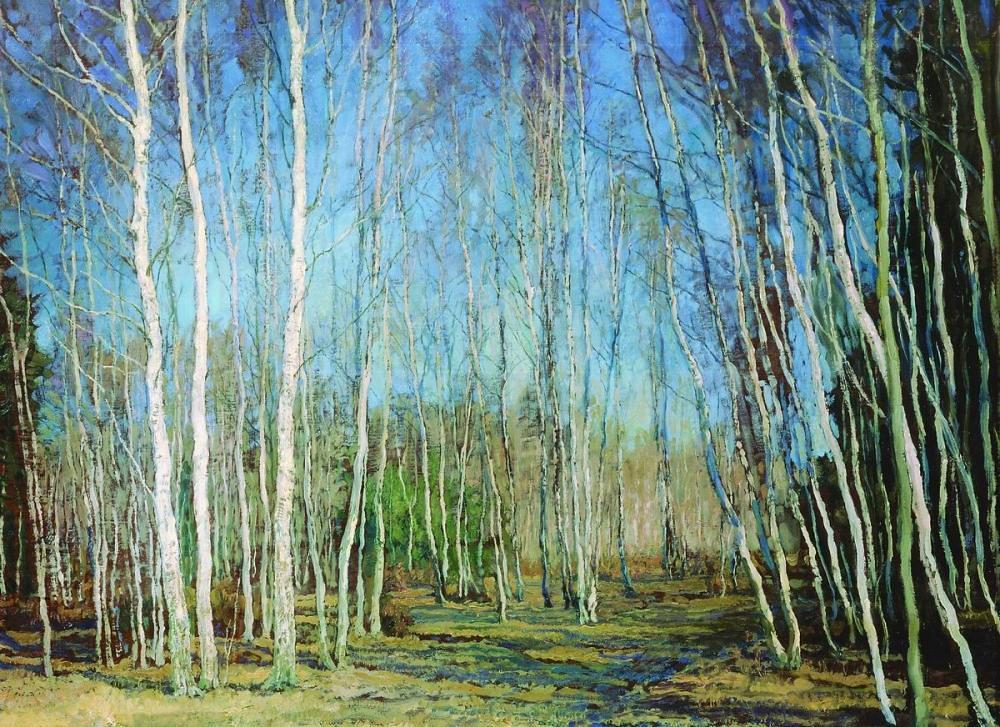 瓦西里·巴克舍耶夫画作选9