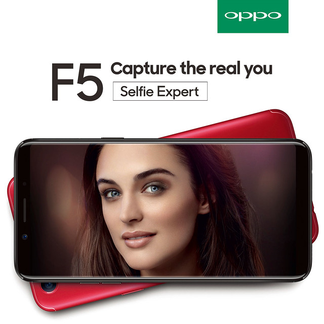 OPPO F5 is now coming to the Philippine Shores!