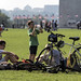 Kids and bikes on the National Mall, Washington, DC