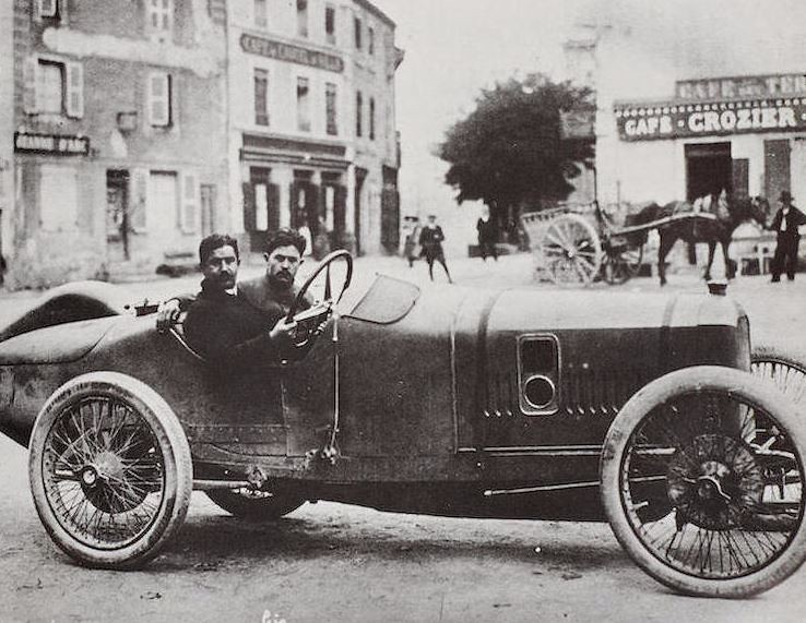 The 1913 Peugeot 4.5-Liter L45 is not only regarded by many as the father of all racing engines, but this specific car ran in the 1916 Indianapolis 500.