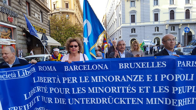 Roma, Parigi, Campagnano, X Marcia per la Libertà, 21 ott 2017