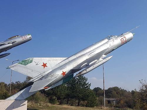 102 MiG-21 Omurtag. 22-10-17