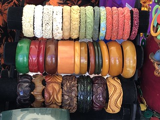 Bakelite (or look-alike, I wouldn't know) bracelets | by SkyWookiee