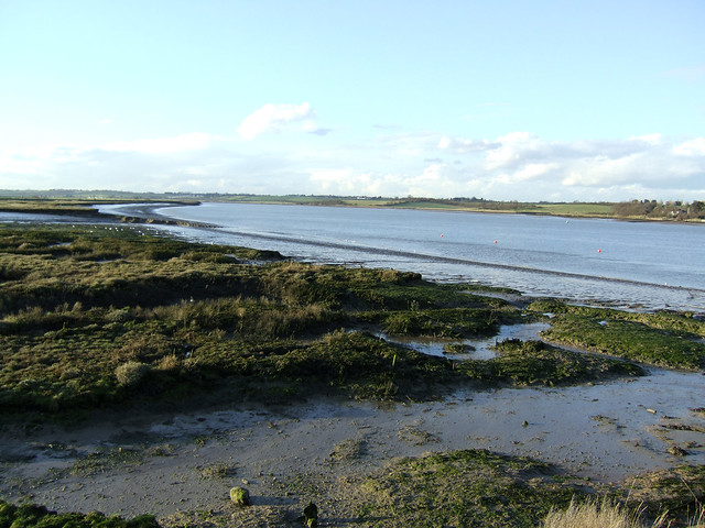 The River Crouch from Wallasea Island