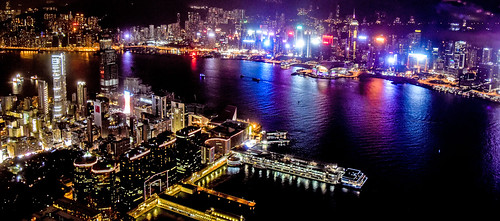 Hong Kong Nightscape from OZONE