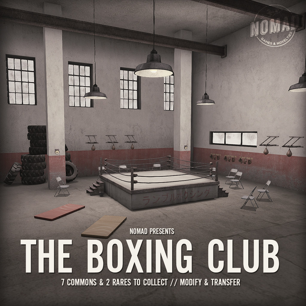 NOMAD // The Boxing Club