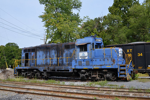 2017 08-28 1022 AI GP7-341 parked at Millville, WV