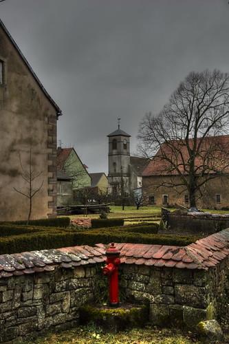 L'église d'Asswiller - Alsace - France