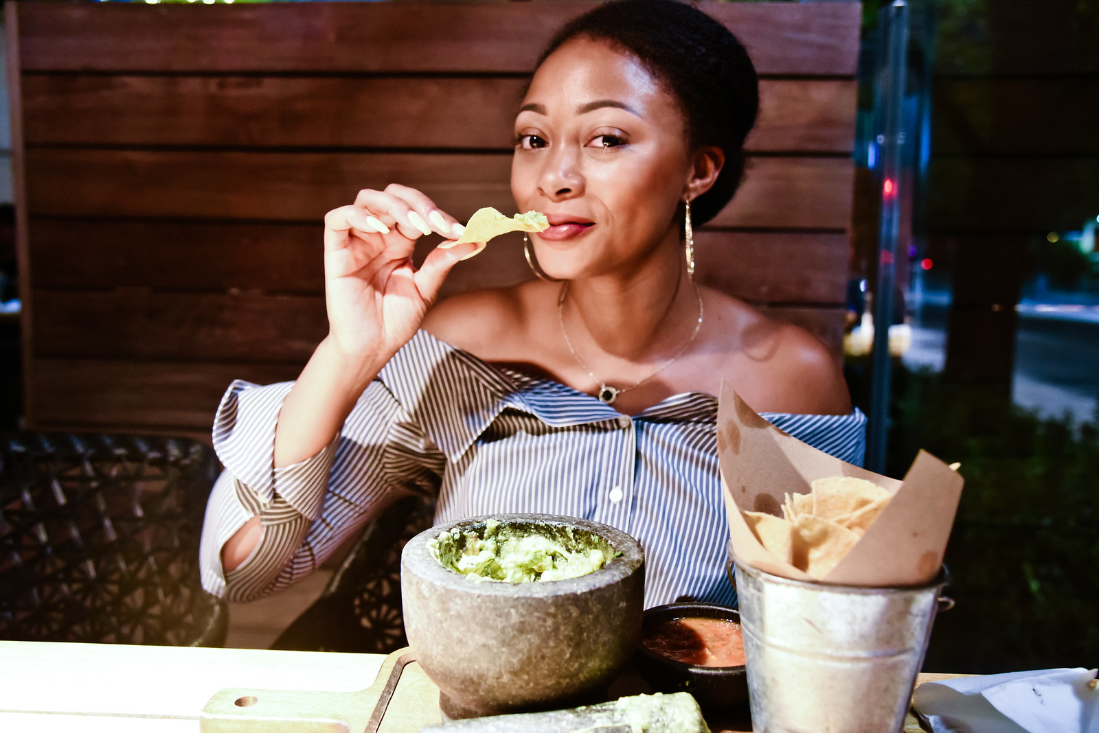 Moxie's Fresh Smashed Guacamole, the beauty beau