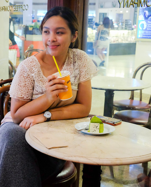 Patty Villegas - The Lifestyle Wanderer - Figaro - Alabang Town Center - Matcha Cake - Snapple -13