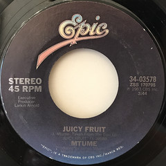 MTUME:JUICY FRUIT(LABEL SIDE-A)
