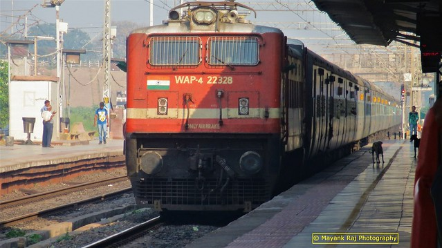 Back to Railfanning after 11 days - Indian Railways..