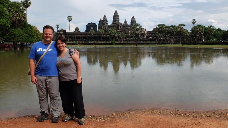 Alex y yo en Angkor