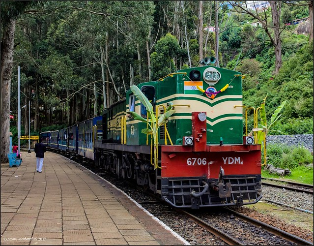 56137 Ooty-Mettupalayam passenger (Nilgiri Mountain Railway)
