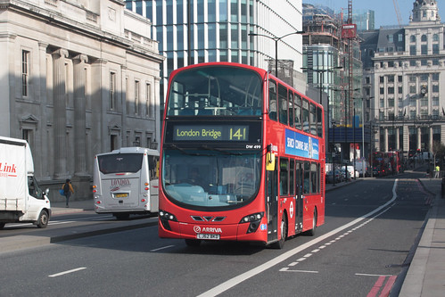 Arriva London DW499 LJ62BKD