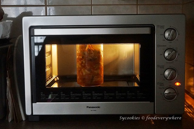 1.Ferment kimchi with Panasonic Electric Oven