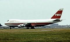 N93115   Boeing 747-131 [20320] (Trans World Airlines) Heathrow~G 01/07/1974