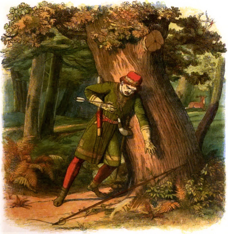 King William II was accidentally and fatally shot with an arrow in the New Forest