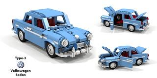 VW Type-3 1500 Sedan (1961)