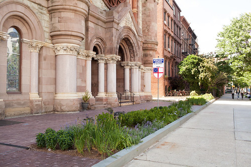 Green Infrastructure Grant: Church of St. Luke and St. Matthews, Brooklyn