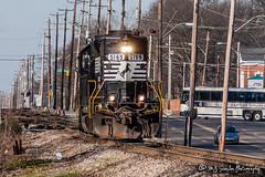 NS 5169   EMD GP38-2   NS Forrest Yard
