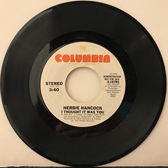 HERBIE HANCOCK:I THOUGHT IT WAS YOU(RECORD SIDE-A)