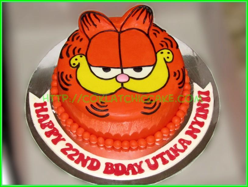 Cake Garfield Utika