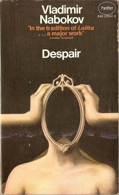 1969 book cover for Vladimir Nabokov's _Despair_