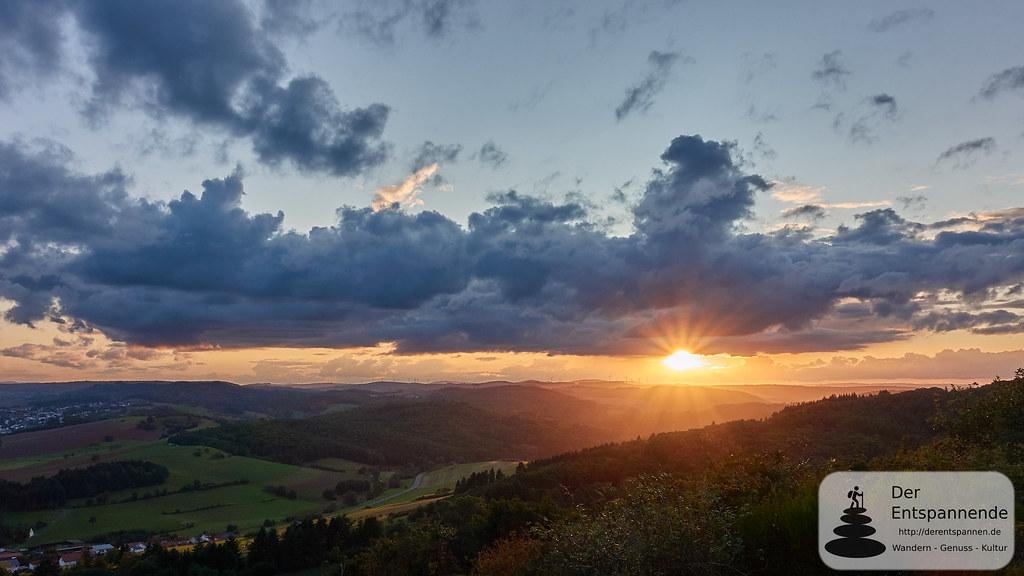Sundowner auf der Kupferberghütte bei Imsbach
