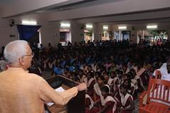 Shri Vasudeoji is honoured by Gandhigram Trust