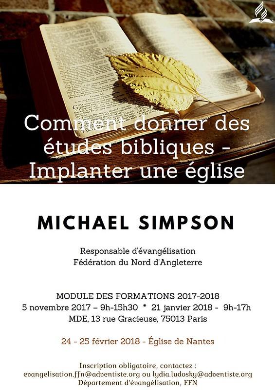 Affiche Michael Simpson