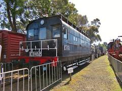 E1102 - Newport Railway Museum – 14.10.17
